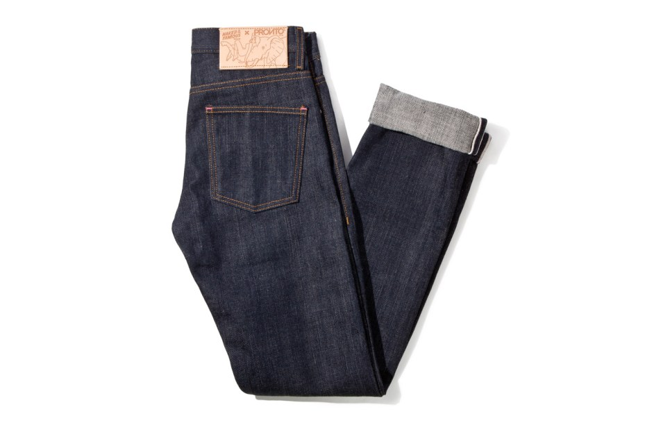 Image of Pronto x Naked &amp; Famous &quot;Skinny Guy&quot; 14.5 oz Japanese Selvedge Denim