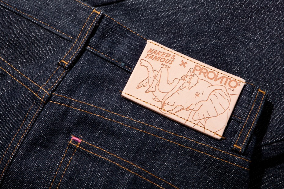 "Image of Pronto x Naked & Famous ""Skinny Guy"" 14.5 oz Japanese Selvedge Denim"