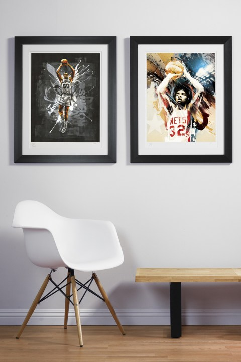 Image of RareInk NBA Art Prints