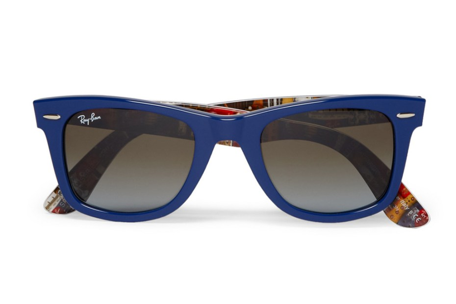 Image of Ray-Ban Print-Lined Wayfarers