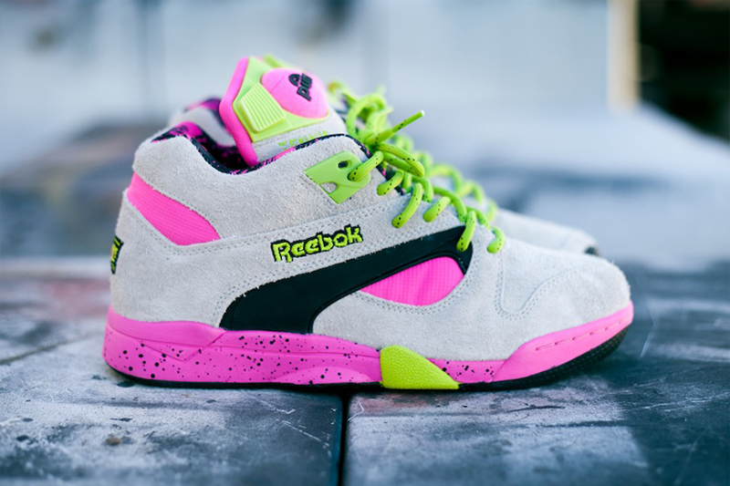 Image of Reebok Pump Omni Lite Grey/Pink