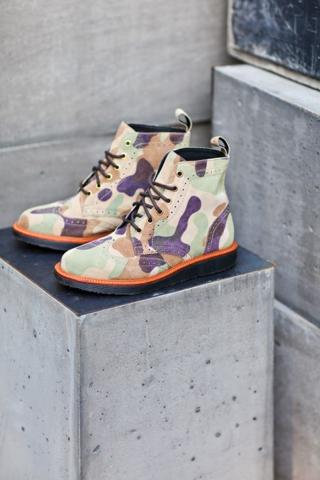 "Image of Ronnie Fieg for Dr. Martens ""The Bowery"" Boot"