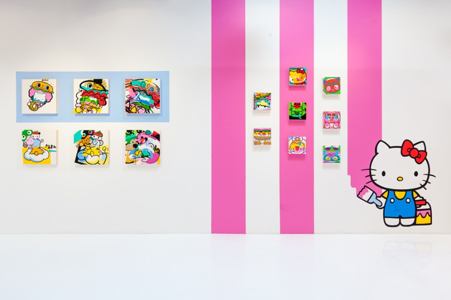 "Image of SANRIO ""Hello Kitty, Hello Art!"" Book Release and Show @ KNOWN Gallery Recap"