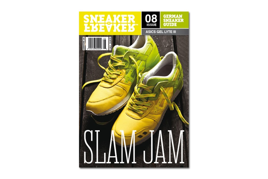 Image of Slam Jam x ASICS 2012 Gel Lyte III Covers Latest Issue of Sneaker Freaker