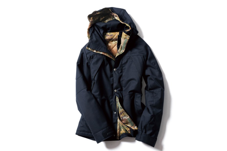 Image of SOPHNET. 2012 Fall/Winter 2Layer Wool Mountain Parka 