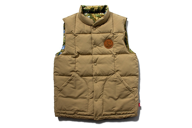 Image of Stussy 2012 Fall/Winter Reversible Frontier Vest