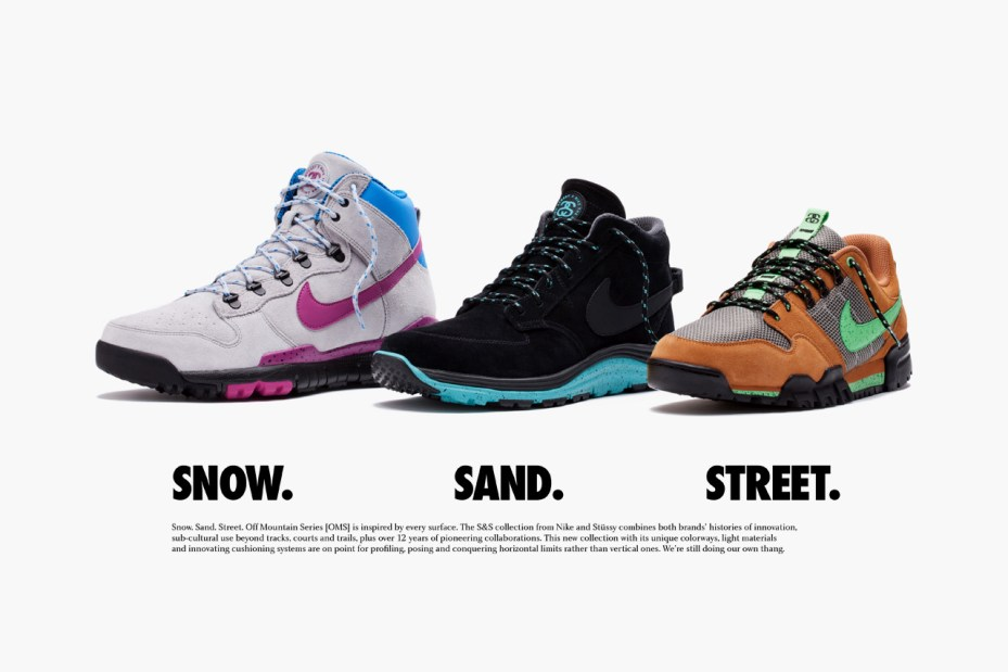 Image of Stussy x Nike S&S Off Mountain Series Footwear
