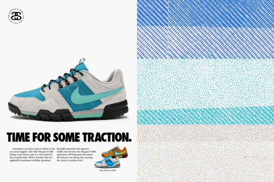 Image of Stussy x Nike S&S Off Mountain Series Footwear