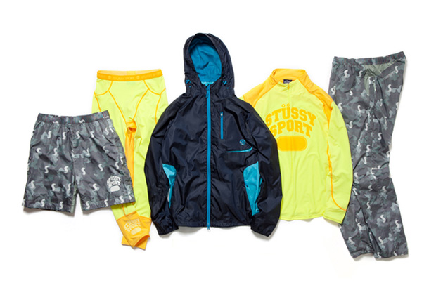 Image of STUSSY SPORT by ONEHUNDRED ATHLETIC 2012 Fall/Winter Collection 3