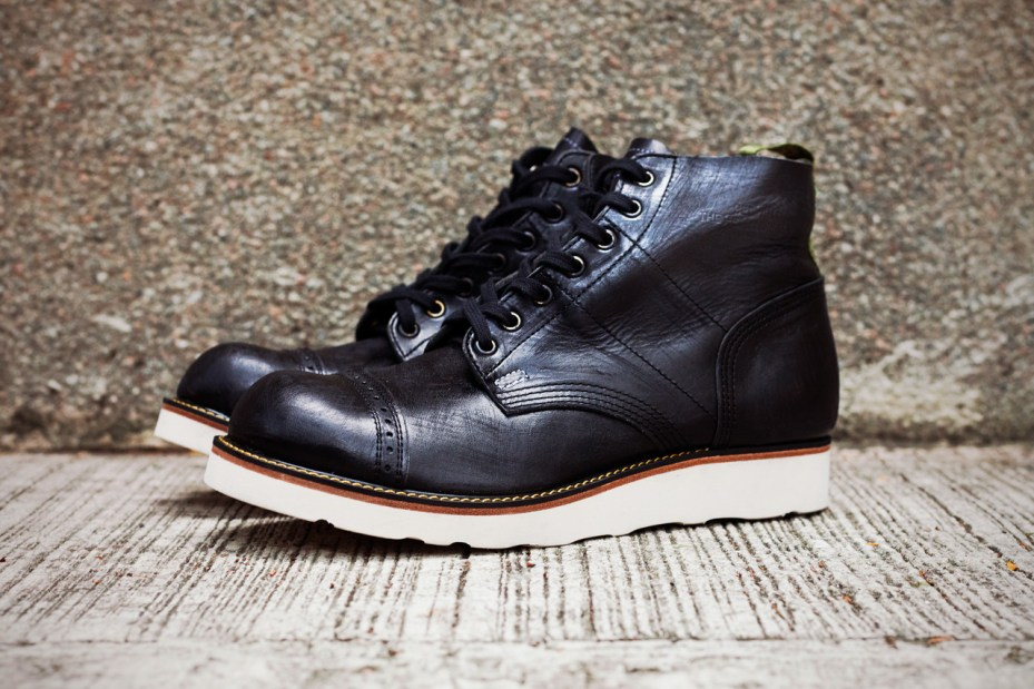 "Image of STUSSY & THE HEARTBREAKERS 2012 Fall/Winter ""Vincent"" Parachute Boots"
