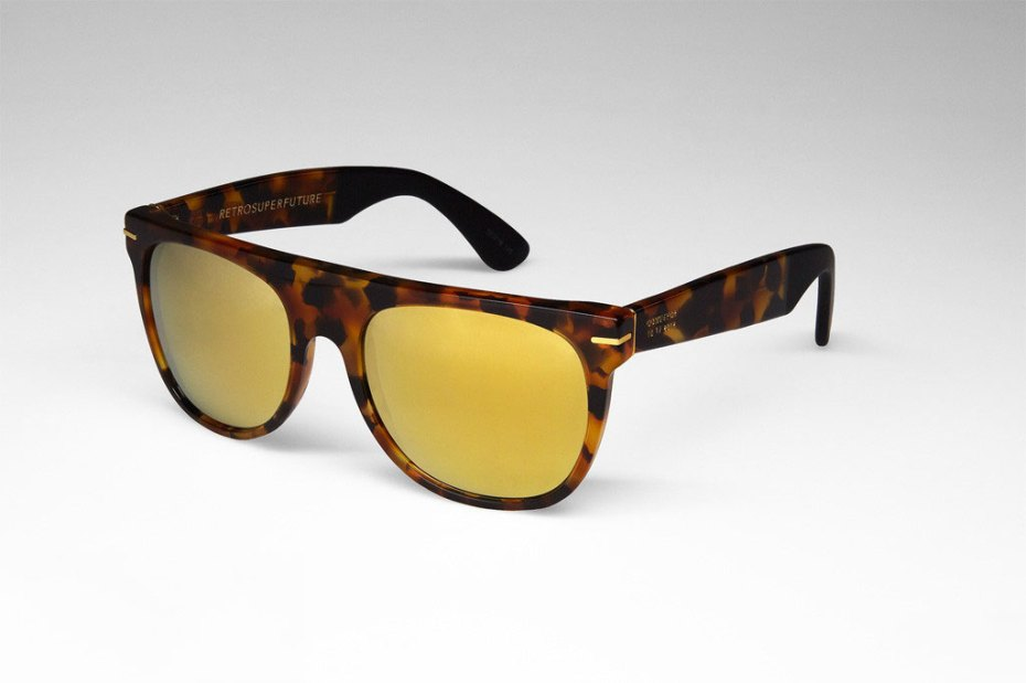 "Image of SUPER ""The Golden State"" Sunglass Collection"