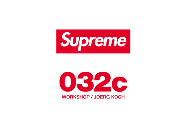 Image of Supreme At 032c Workshop/Joerg Koch
