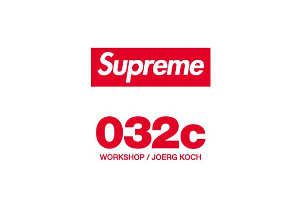 Image of Supreme At 032c Workshop/Joerg Koch