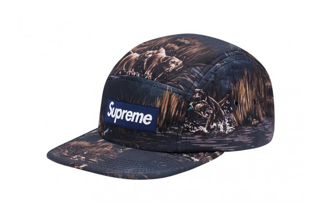 Image of Supreme Dogs & Ducks Canvas Camp Caps