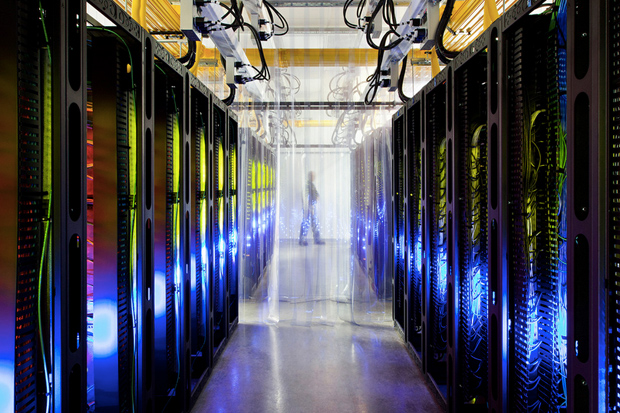 Image of Take a Look Inside Google's High-Tech Data Centers