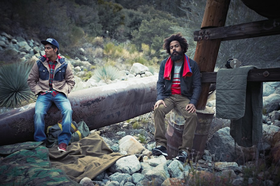 "Image of The Hundreds 2012 Winter ""Man vs. Beast"" Lookbook"