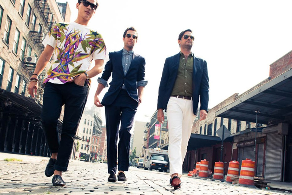 Image of Three Stylish Editors Take On Louboutin's First North American Men's Boutique