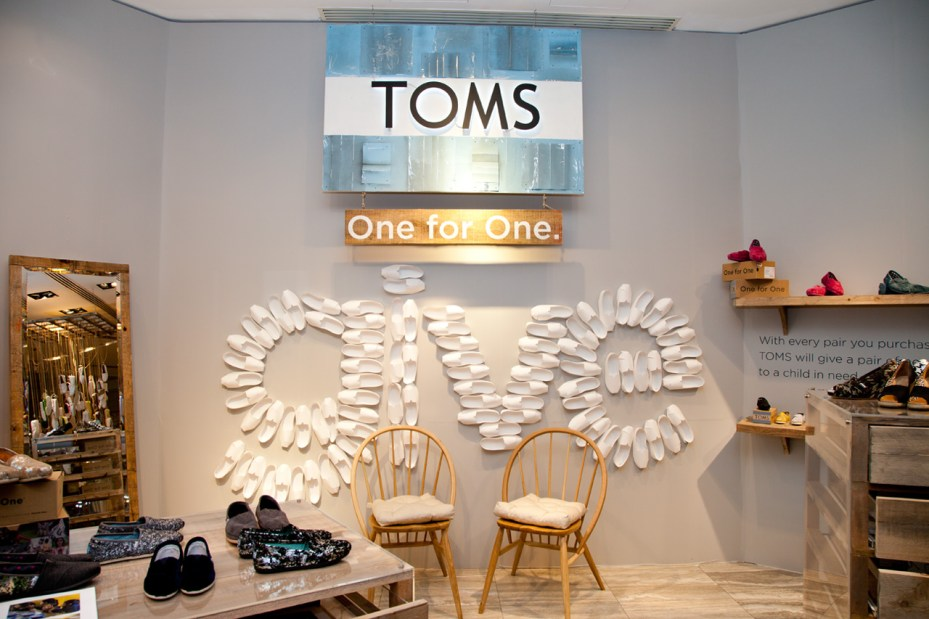 Image of TOMS Founder Blake Mycoskie Discusses the Success of His Business and Philanthropy