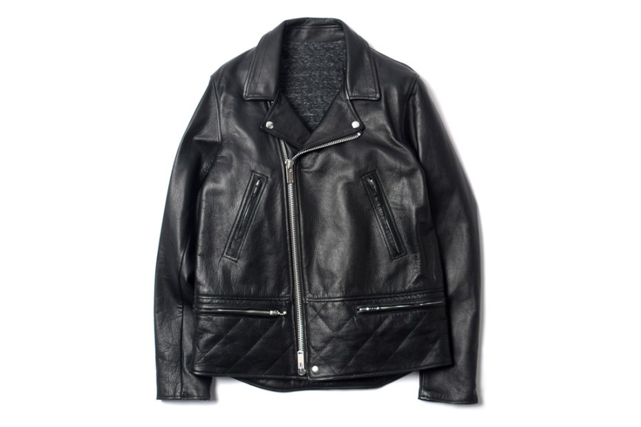 Image of UNDERCOVER J4206-2 Leather Rider Jacket