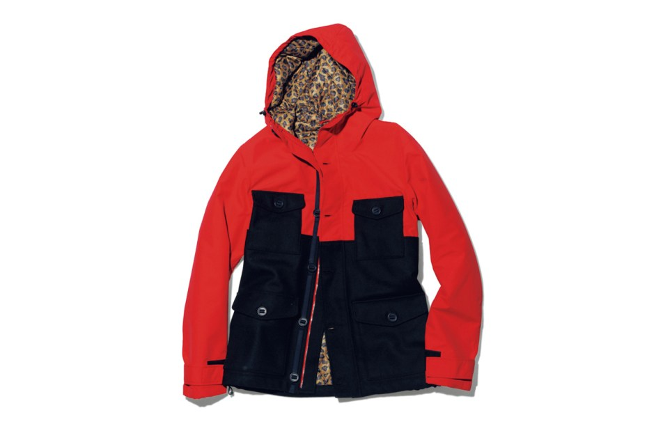 Image of uniform experiment 2 TONE HOODED BLOUSON
