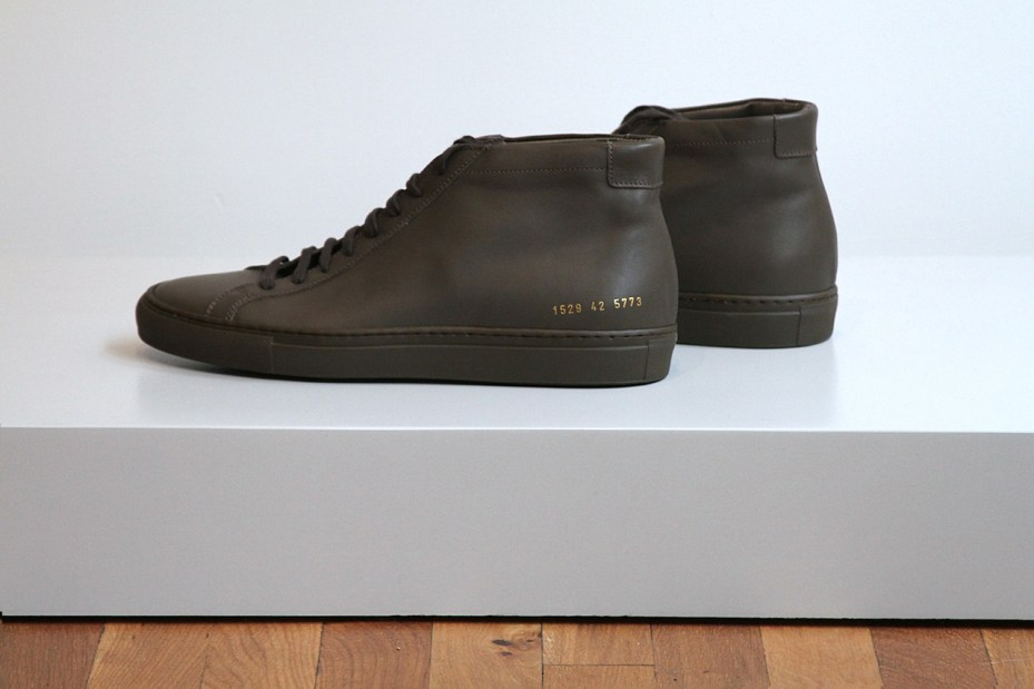 Image of Unis x Common Projects 2012 Fall/Winter Military