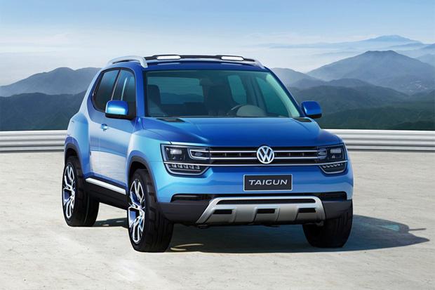 Image of Volkswagen Taigun SUV Concept