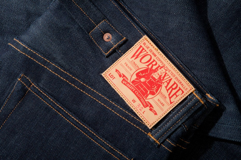 Image of WORKWARE Overalls Lot. 1937 MOD. Selvedge Denim
