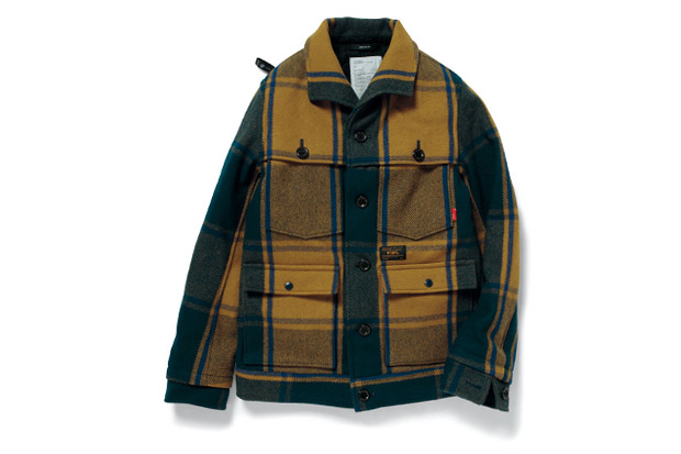 Image of WTAPS 2012 Fall/Winter LUMBER JACK WOOL MELTON
