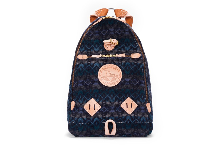 Image of Yuketen Blue Triangle Backpack
