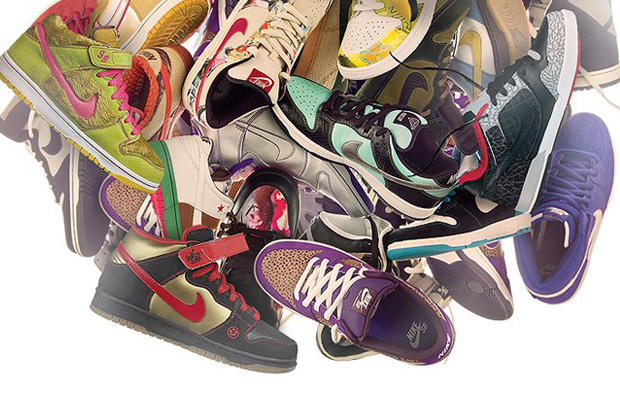 Image of 10 Years of Nike SB at the Nike SB Shoe Museum