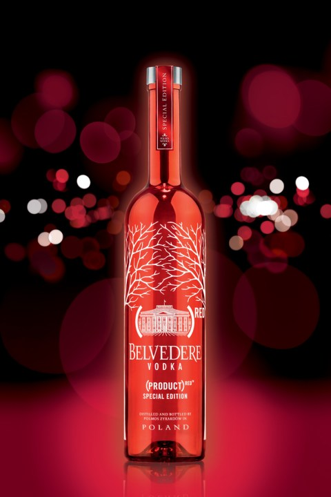 Image of Belvedere (RED) 2012 Special Edition Bottle