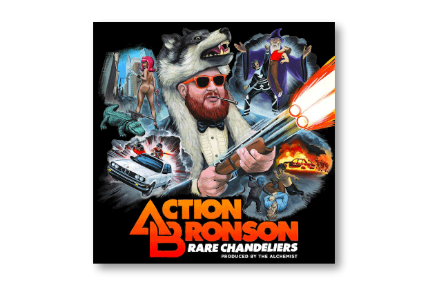 Image of Action Bronson & The Alchemist – Rare Chandeliers | Mixtape