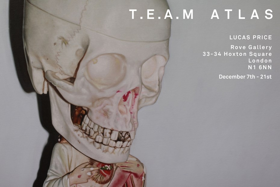 Image of Lucas Price T.E.A.M Atlas Exhibition @ Rove Gallery