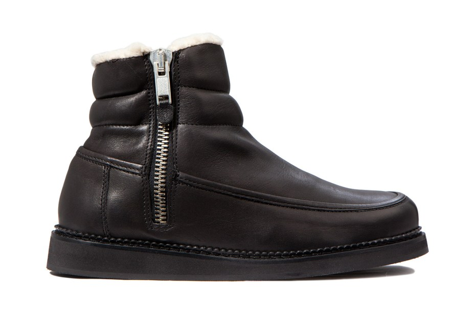 Image of SILENT Damir Doma 2012 Fall/Winter Black Samaris Boot