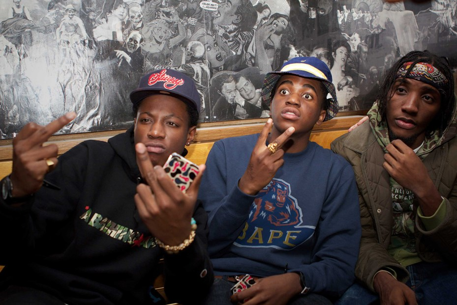 Image of A Bathing Ape London 10th Anniversary Party with Joey Bada$$