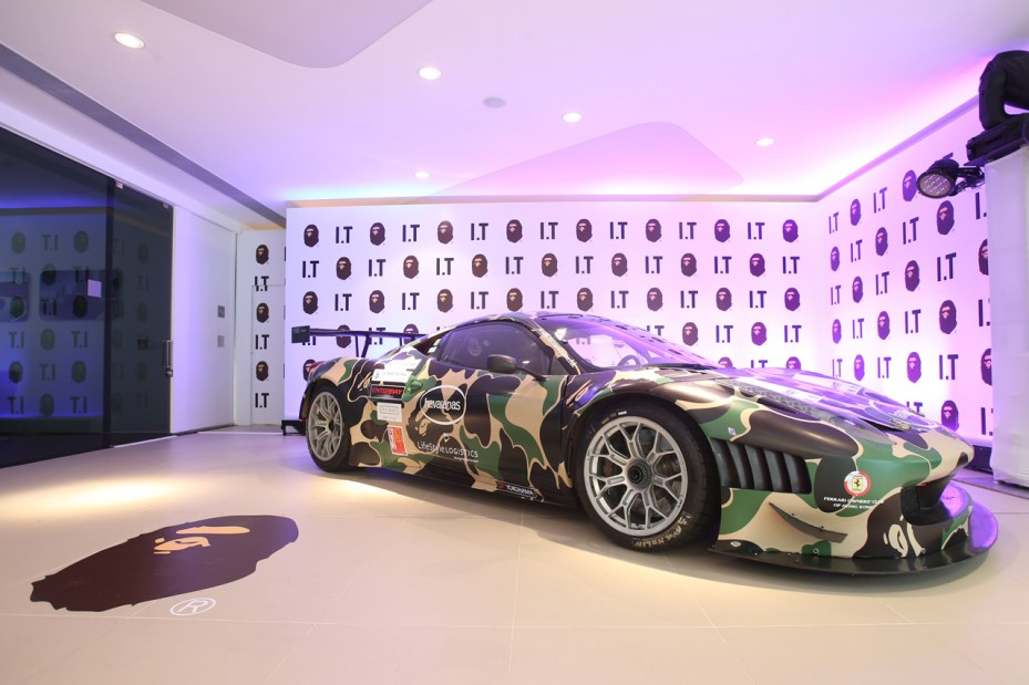 Image of A Bathing Ape x Ferrari 458 Italia GT3