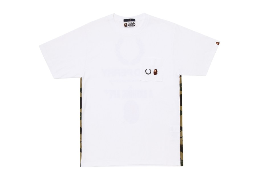 Image of A Bathing Ape x Fred Perry 60th Anniversary Capsule Collection