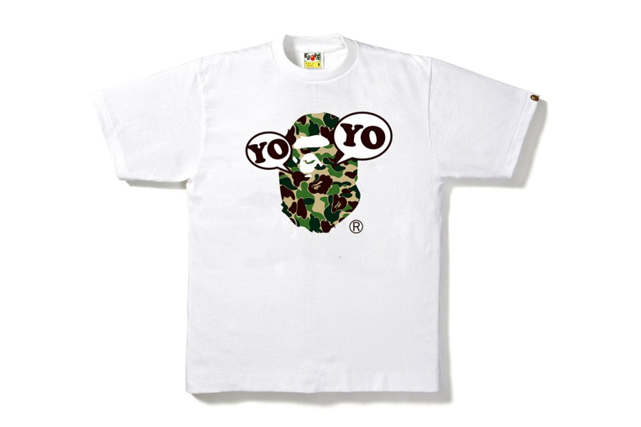 Image of A Bathing Ape x YOYO 10th Anniversary T-Shirt