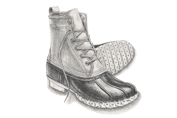 "Image of A Brief History of the L.L.Bean ""Bean"" Boot"