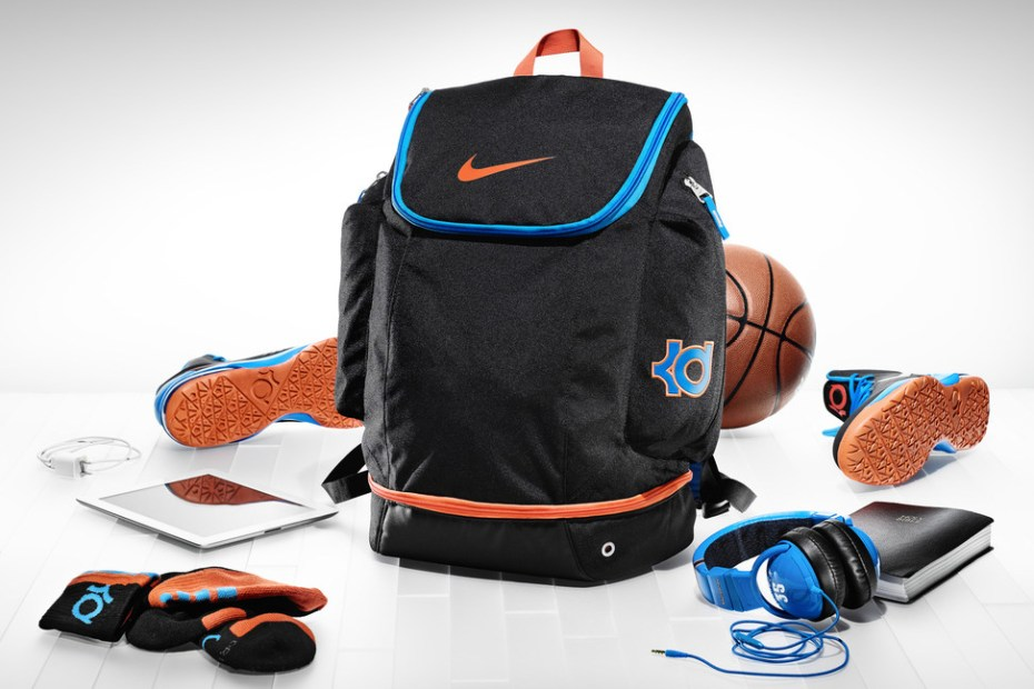 Image of A Closer Look at Kevin Durant's Backpack