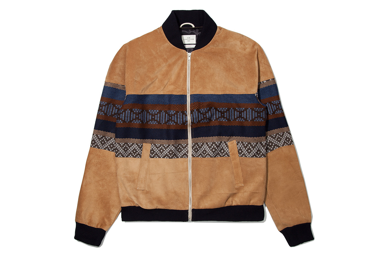 Image of A Kind of Guise 2012 Fall/Winter Seniors Suede Bomber