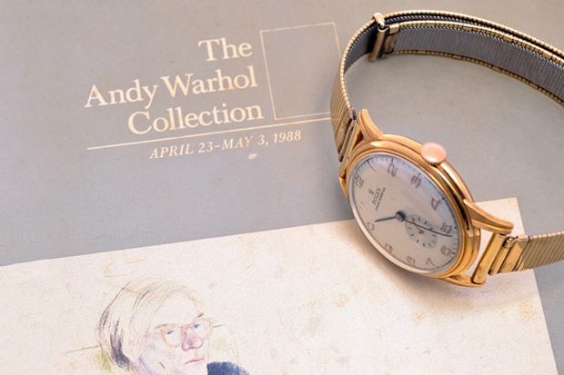 Image of A Look at Andy Warhol's 1940s Rolex