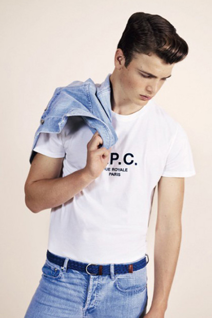 Image of A.P.C. 2013 Pre-Spring Lookbook