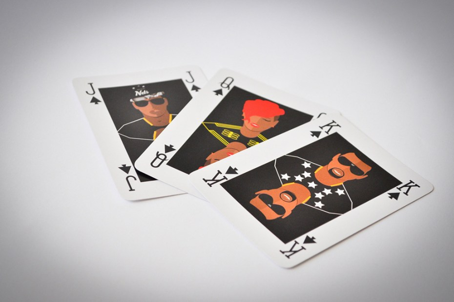 Image of Playing Cards that Feature Your Favorite Pop Culture Icons