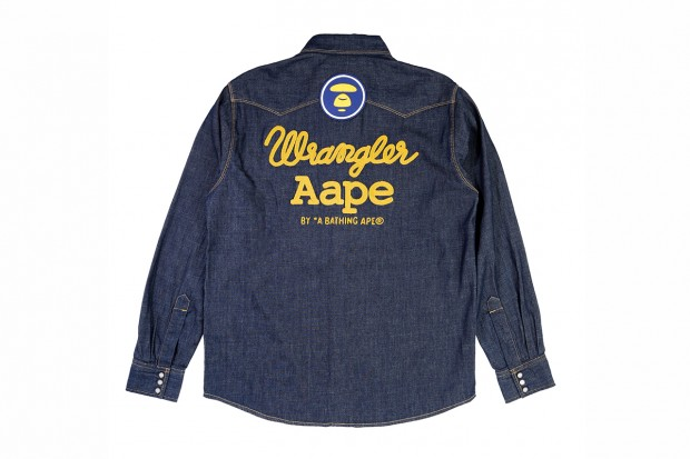 Image of AAPE by A Bathing Ape x Wrangler 2012 Capsule Collection