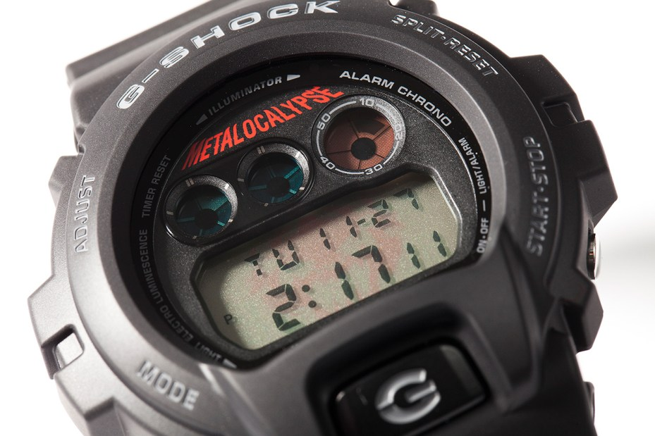 Image of Adult Swim Metalocalypse x Casio G-Shock DW-6900