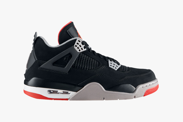 "Image of Air Jordan IV ""Black/Red"""