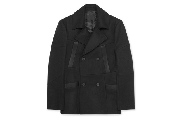 Image of Alexander Wang Double Breasted Pea Coat