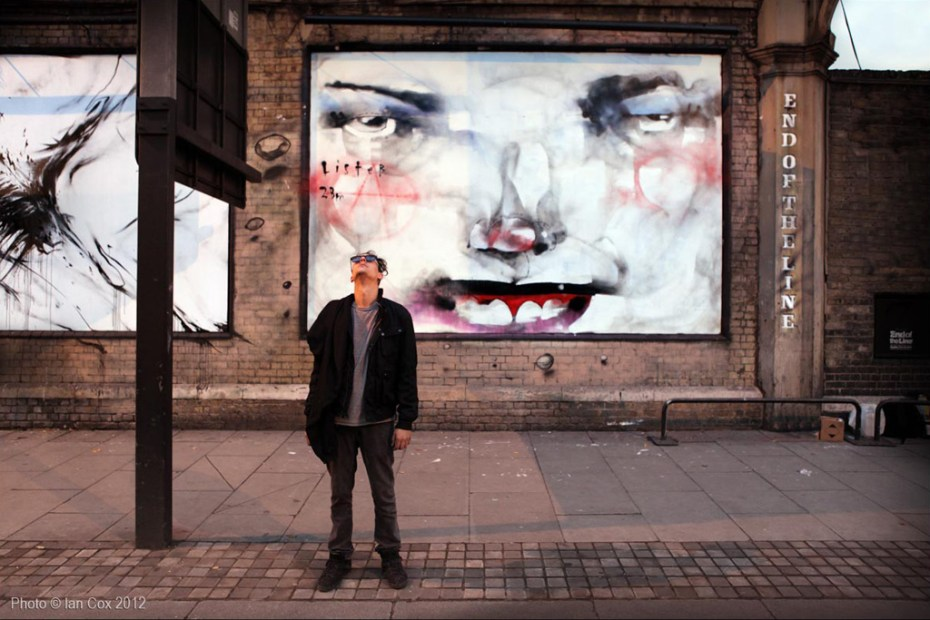 "Image of Anthony Lister ""Unslung Heroes"" Mural @ London"