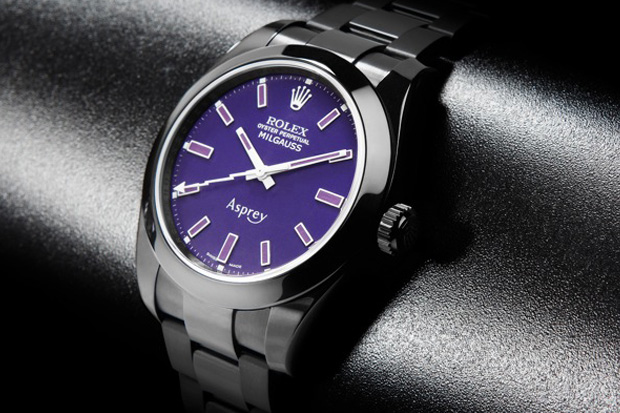 Image of Asprey x Bamford Watch Department Custom Rolex Milgauss